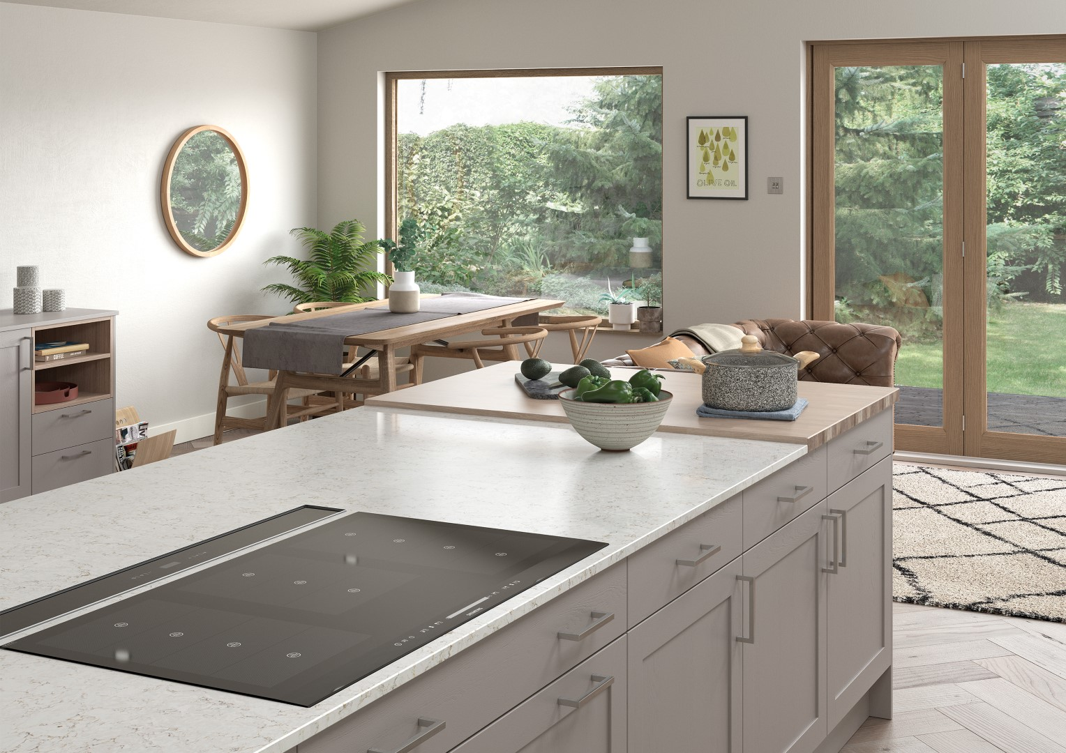 Aldana Porcelain and Cashmere - Kitchen Design - Alan Kelly Kitchens - Waterford - 1