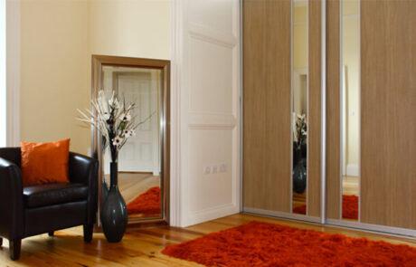 Aragon Oak - Sliderobes - Alan Kelly Kitchens & Bedrooms - Waterford