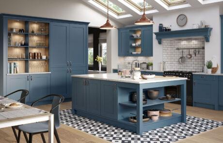 Classic Modern Kitchen - Georgia Airforce Kitchen - Kitchen Design - Alan Kelly Kitchens - Waterford