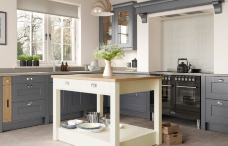 Classic Traditional Kitchen - Florence Dust Grey, Porcelain Kitchen - Kitchen Design - Alan Kelly Kitchens - Waterford