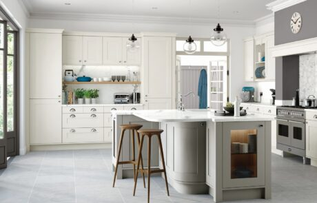 Classic Traditional Kitchen - Georgia Painted Porcelain Stone - Kitchen Design - Alan Kelly Kitchens - Waterford