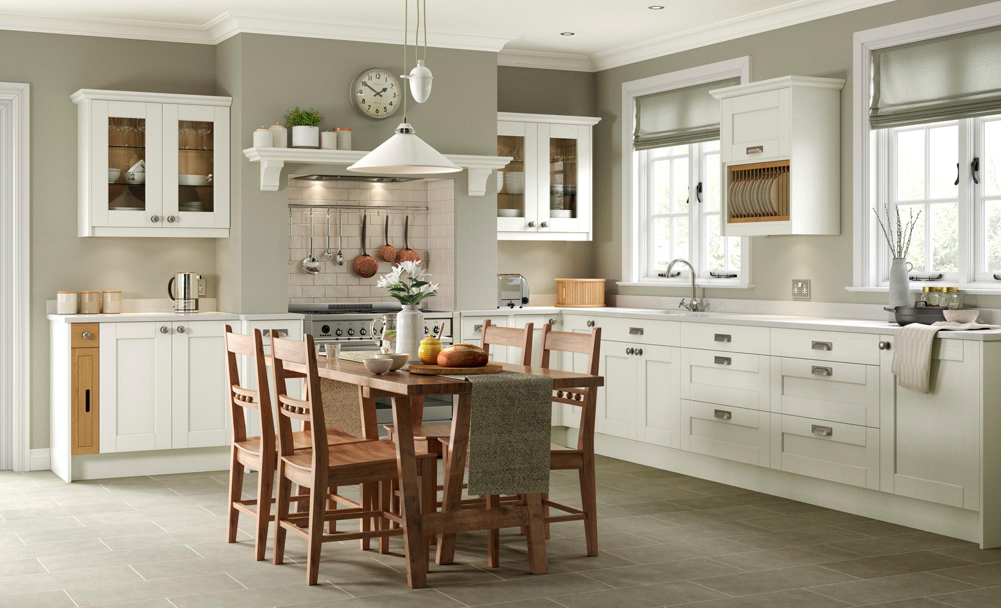 Classic Traditional Kitchen - Kensington Ivory Kitchen - Kitchen Design - Alan Kelly Kitchens - Waterford