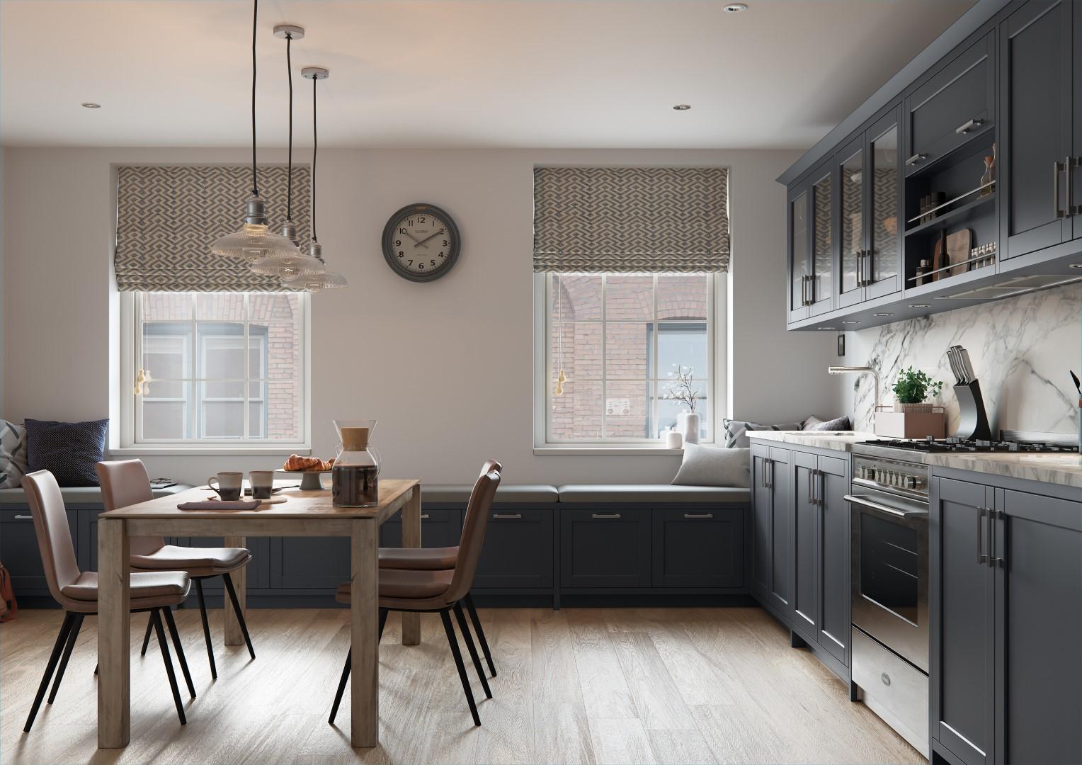 Dawson Indigo - Kitchen Design - Alan Kelly Kitchens - Waterford - 2