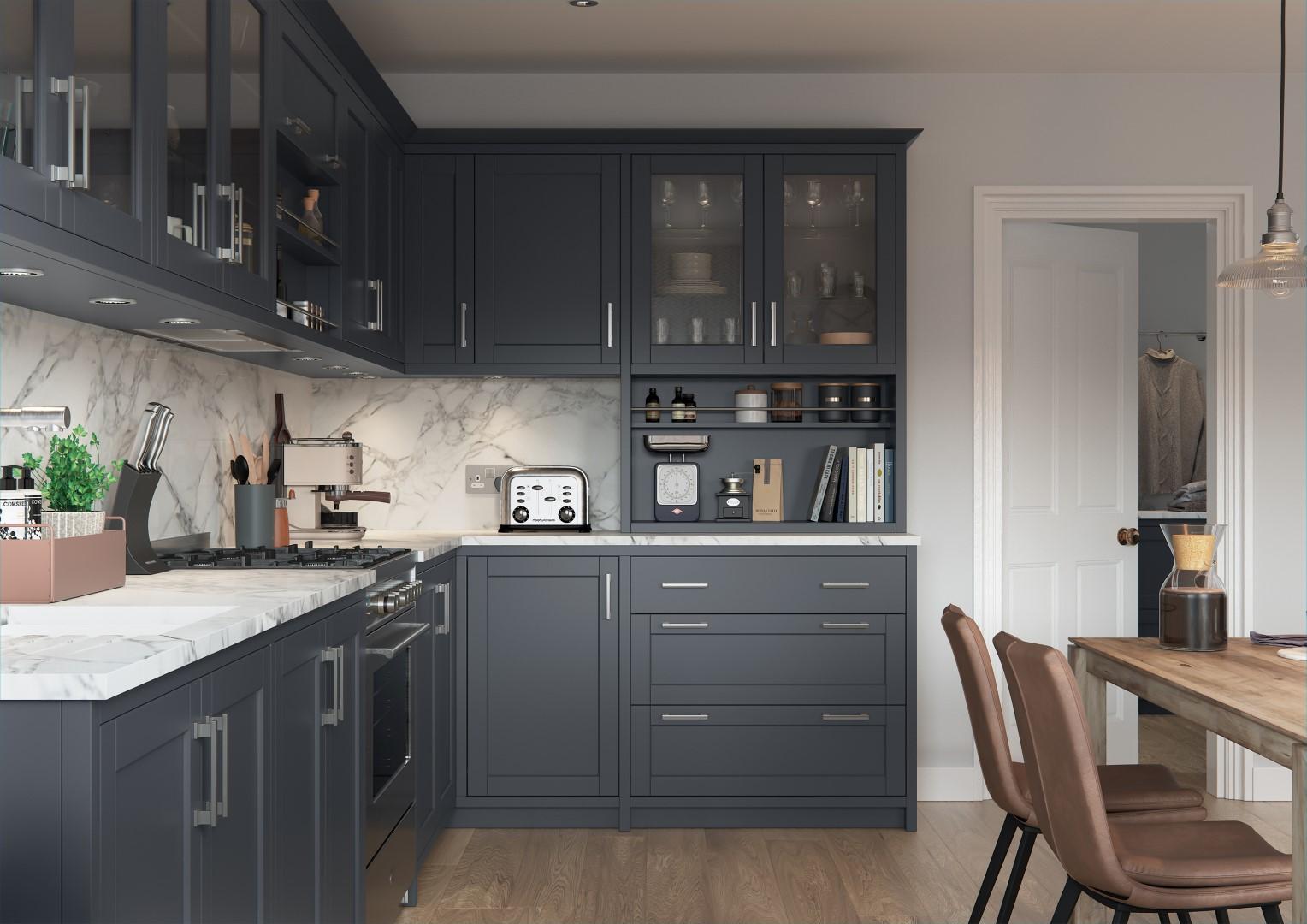 Dawson Indigo - Kitchen Design - Alan Kelly Kitchens - Waterford - 4