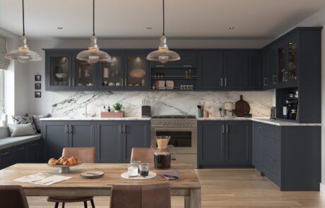 Dawson Indigo - Kitchen Design - Alan Kelly Kitchens - Waterford - 6