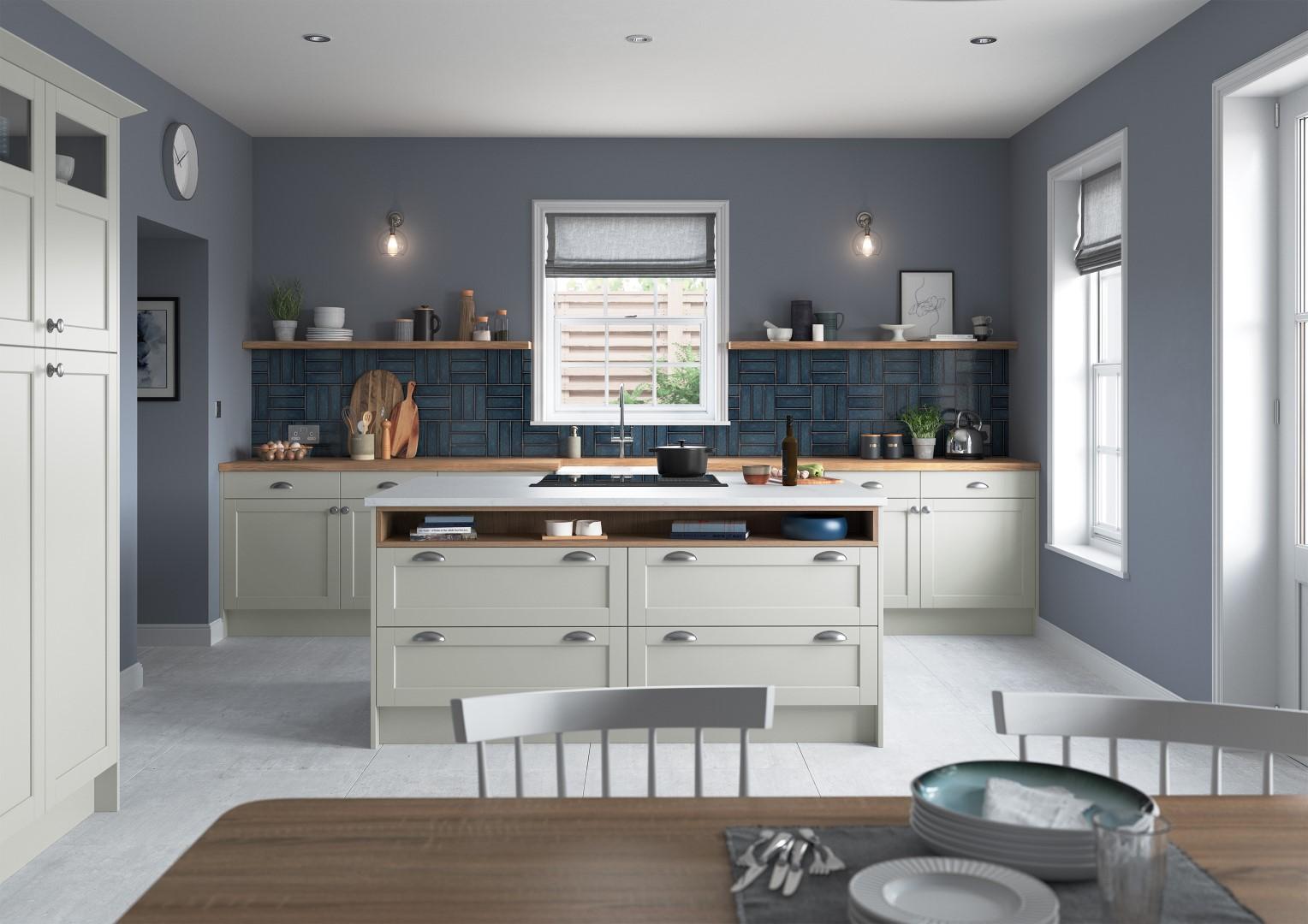 Dawson Light Grey - Kitchen Design - Alan Kelly Kitchens - Waterford - 3