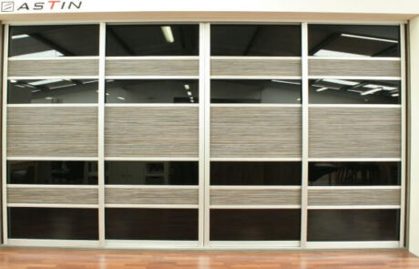 Driftwood & Black Glass - Sliderobes - Alan Kelly Kitchens & Bedrooms - Waterford