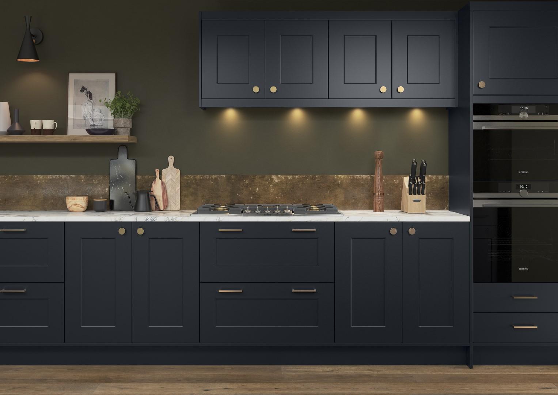Florence Slate Blue - Kitchen Design - Alan Kelly Kitchens - Waterford - 3