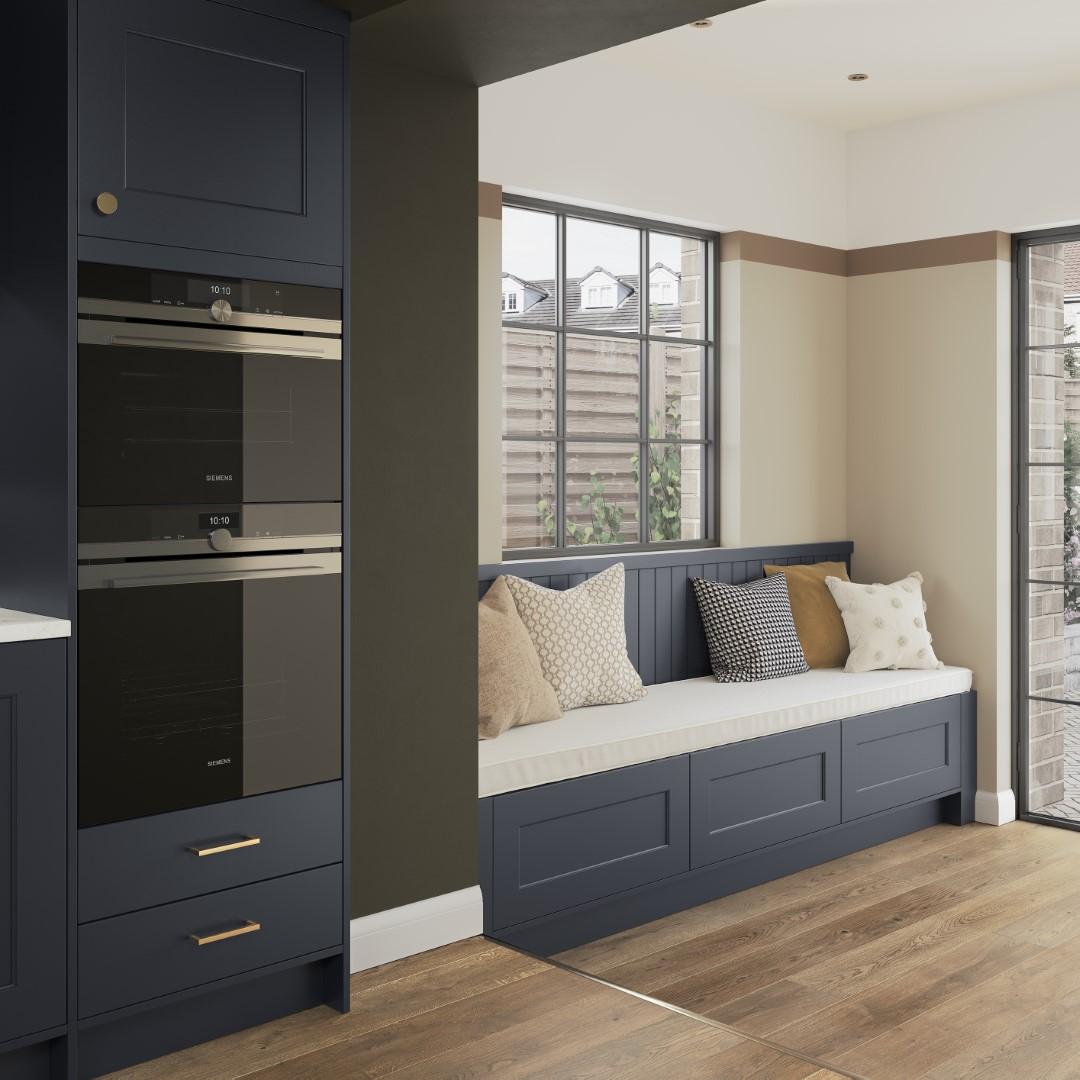 Florence Slate Blue - Kitchen Design - Alan Kelly Kitchens - Waterford - 4