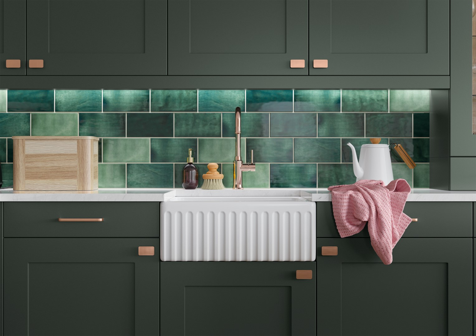 Georgia Deep Forest - Kitchen Design - Alan Kelly Kitchens - Waterford - 4