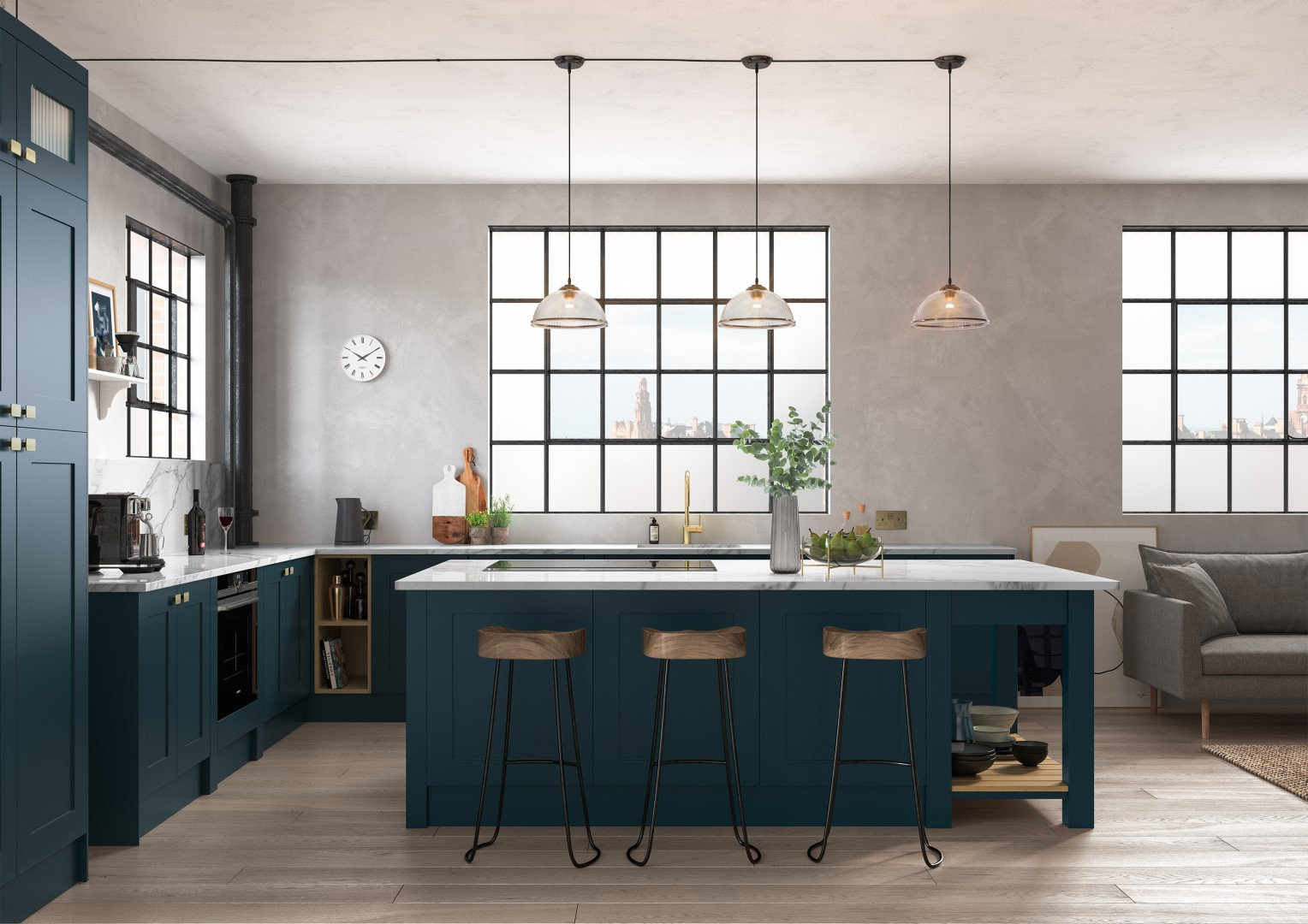 Georgia Marine - Kitchen Design - Alan Kelly Kitchens - Waterford - 5