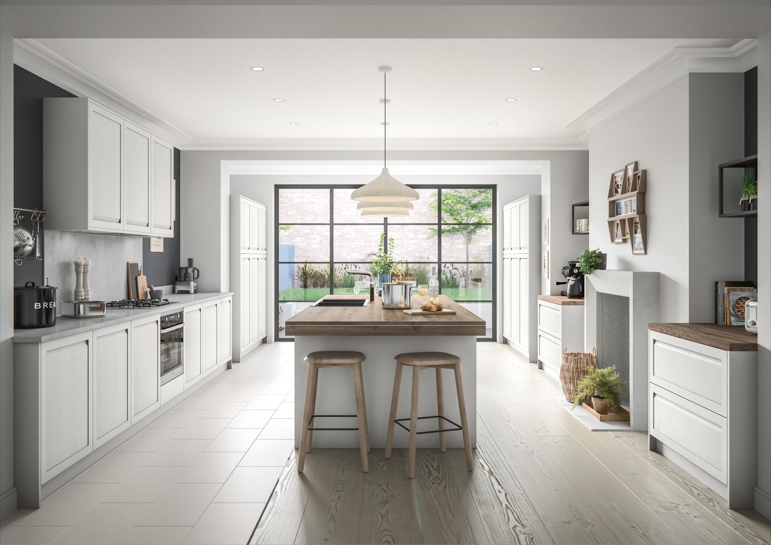 Harborne Light Grey - Kitchen Design - Alan Kelly Kitchens - Waterford - 5