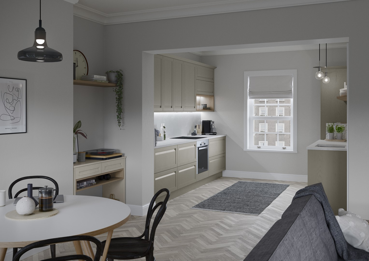 Harborne Shell and Stone - Kitchen Design - Alan Kelly Kitchens - Waterford - 3