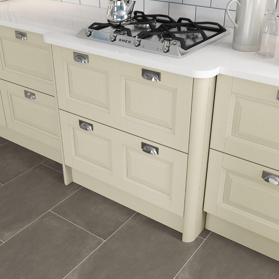 Jefferson Ivory Kitchen - Kitchen Design - Alan Kelly Kitchens - Waterford - 1