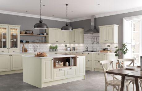Jefferson Ivory Kitchen - Kitchen Design - Alan Kelly Kitchens - Waterford - 2
