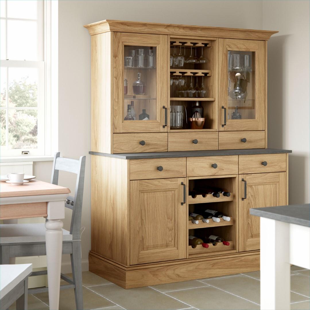 Jefferson Light Oak and Ivory Kitchen - Kitchen Design - Alan Kelly Kitchens - Waterford - 4