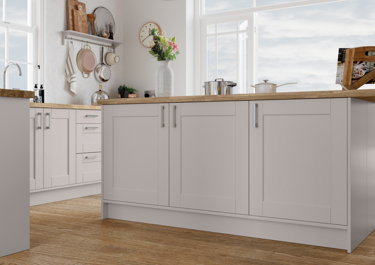 Kensington Cashmere - Kitchen Design - Alan Kelly Kitchens - Waterford - 1