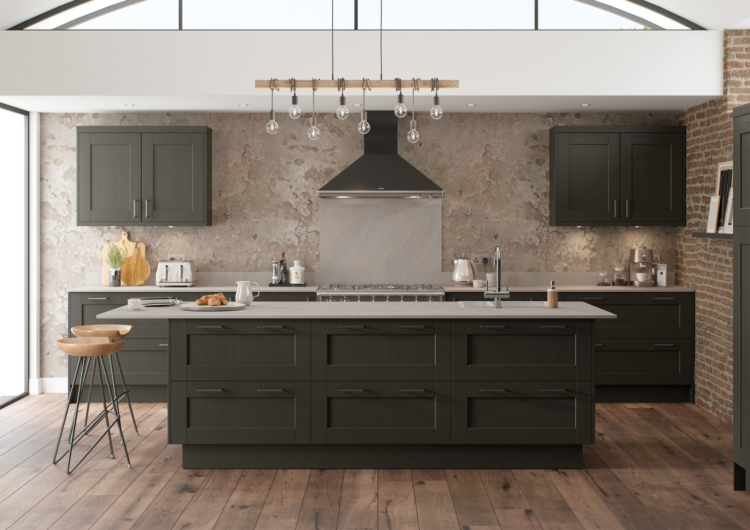 Kensington Graphite - Kitchen Design - Alan Kelly Kitchens Waterford - 1