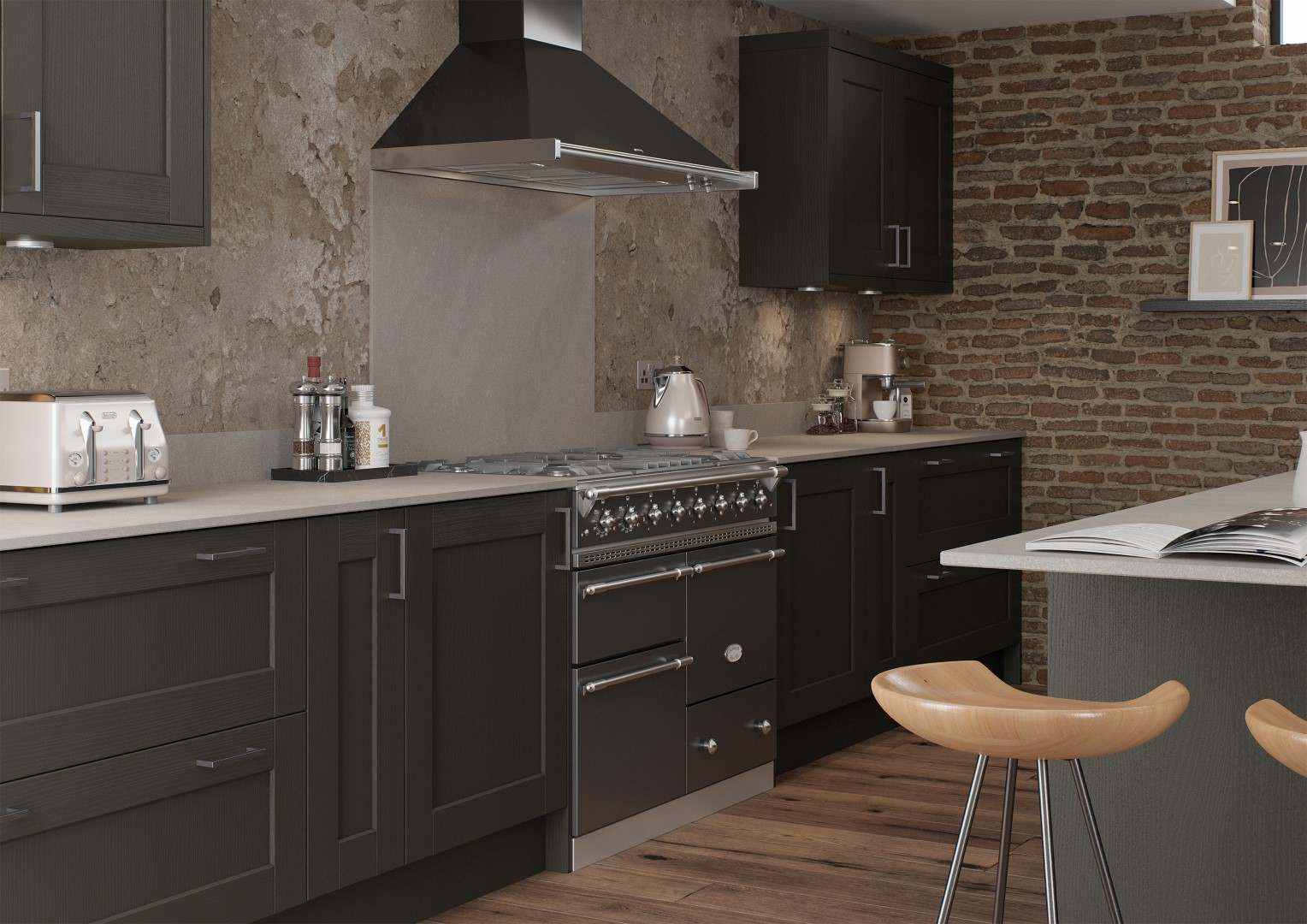 Kensington Graphite - Kitchen Design - Alan Kelly Kitchens Waterford - 2