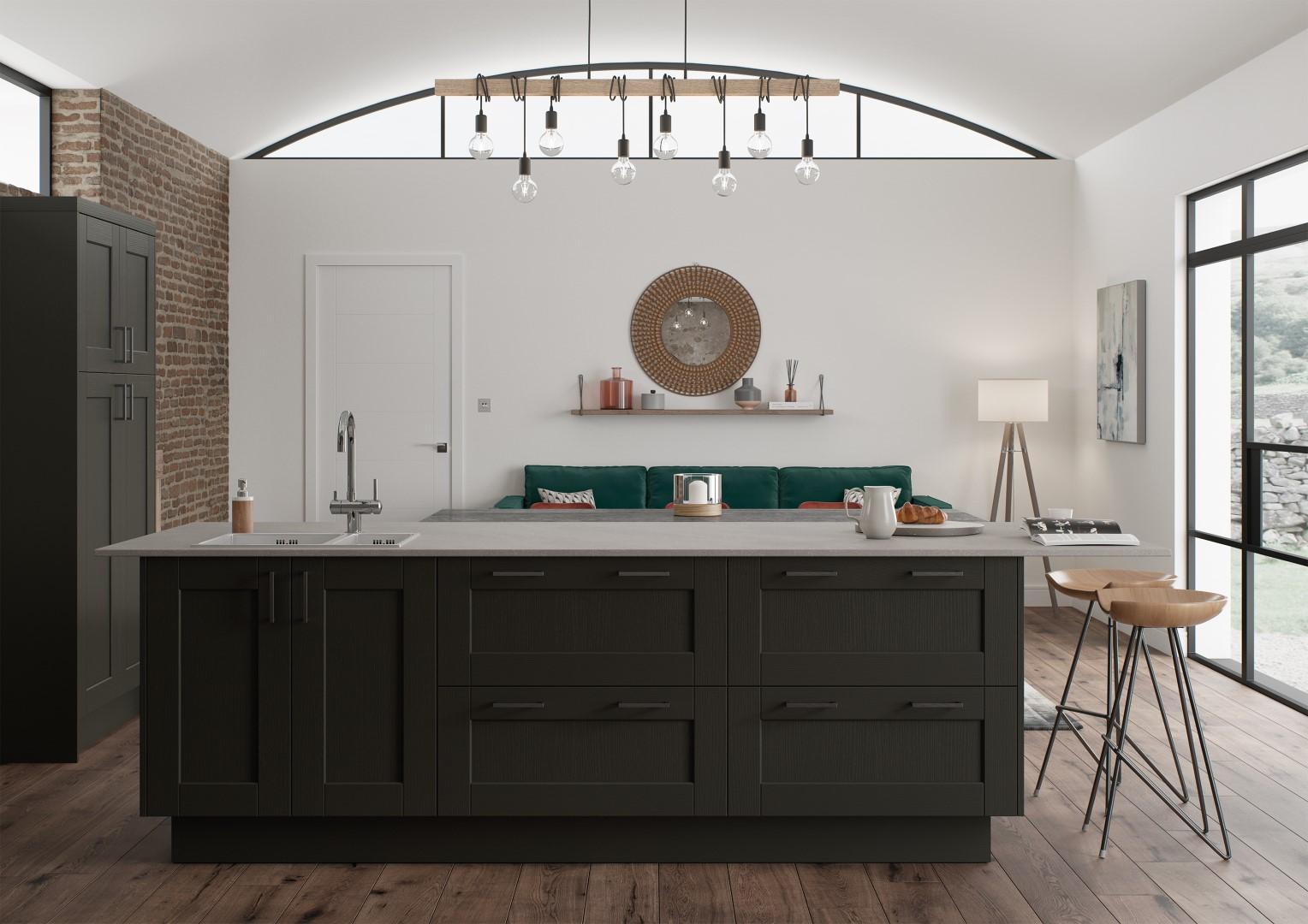 Kensington Graphite - Kitchen Design - Alan Kelly Kitchens Waterford - 4