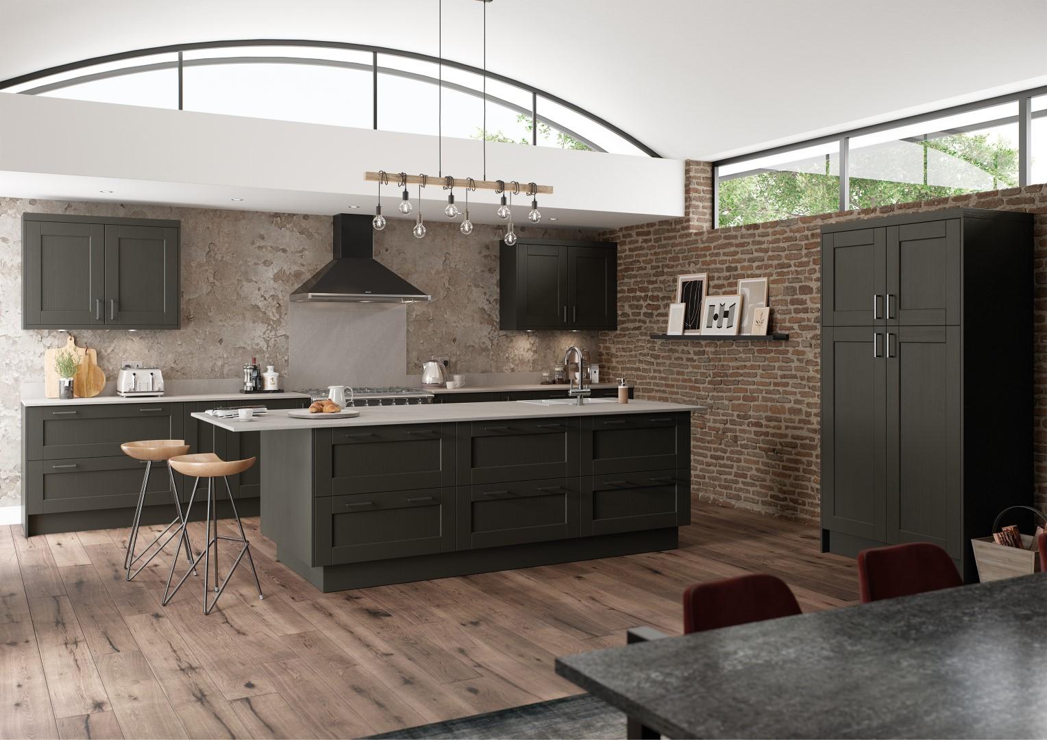 Kensington Graphite - Kitchen Design - Alan Kelly Kitchens Waterford - 5
