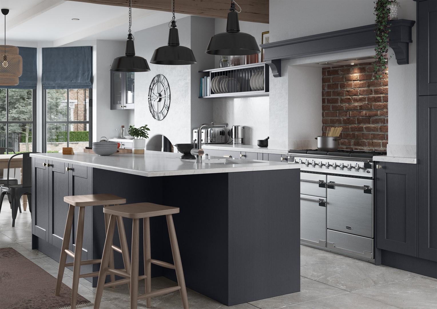 Kensington Indigo - Kitchen Design - Alan Kelly Kitchens - Waterford - 1