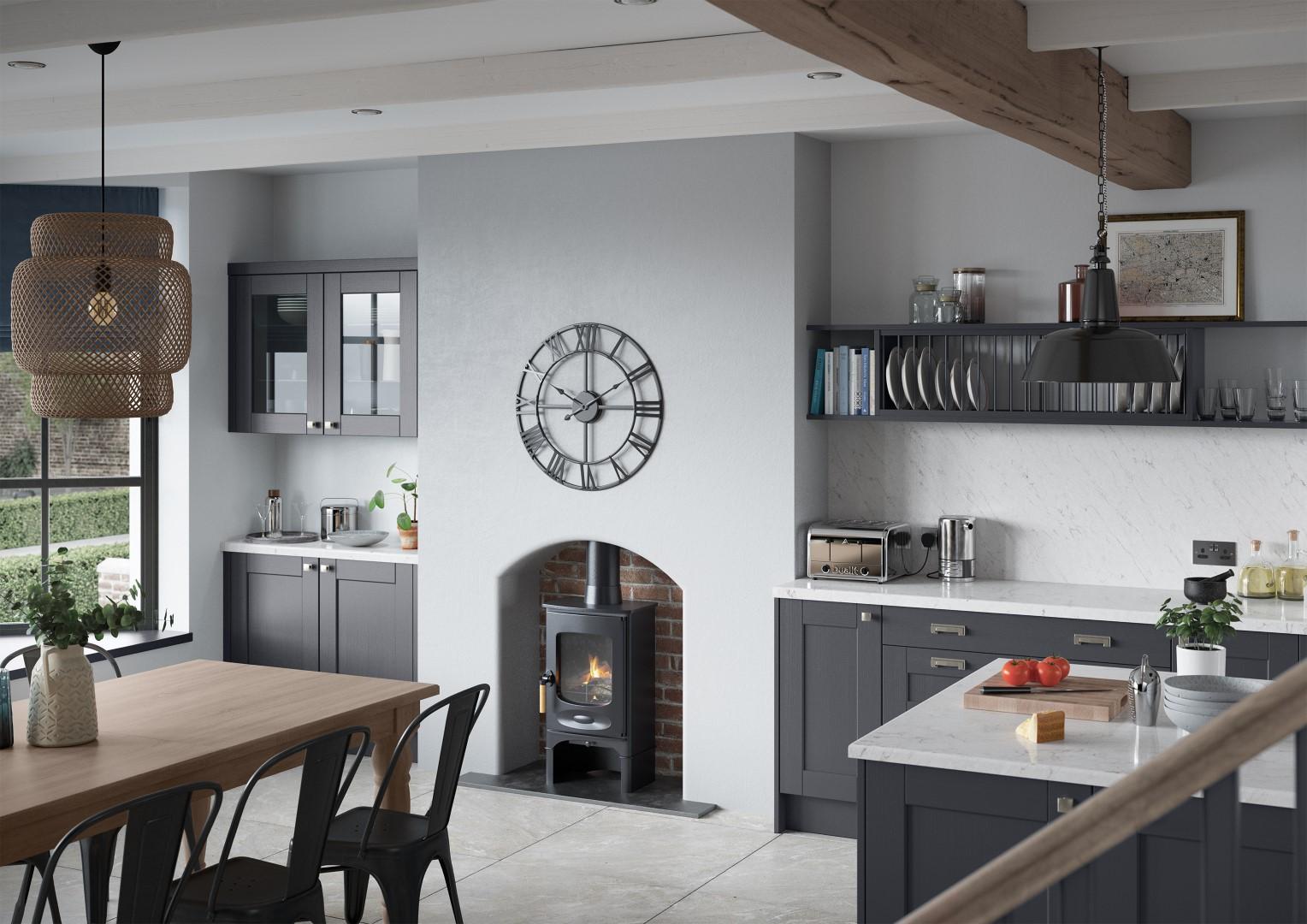 Kensington Indigo - Kitchen Design - Alan Kelly Kitchens - Waterford - 2