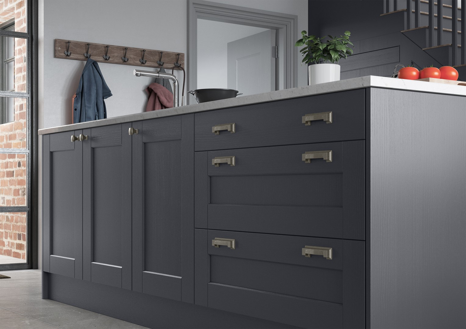 Kensington Indigo - Kitchen Design - Alan Kelly Kitchens - Waterford - 6