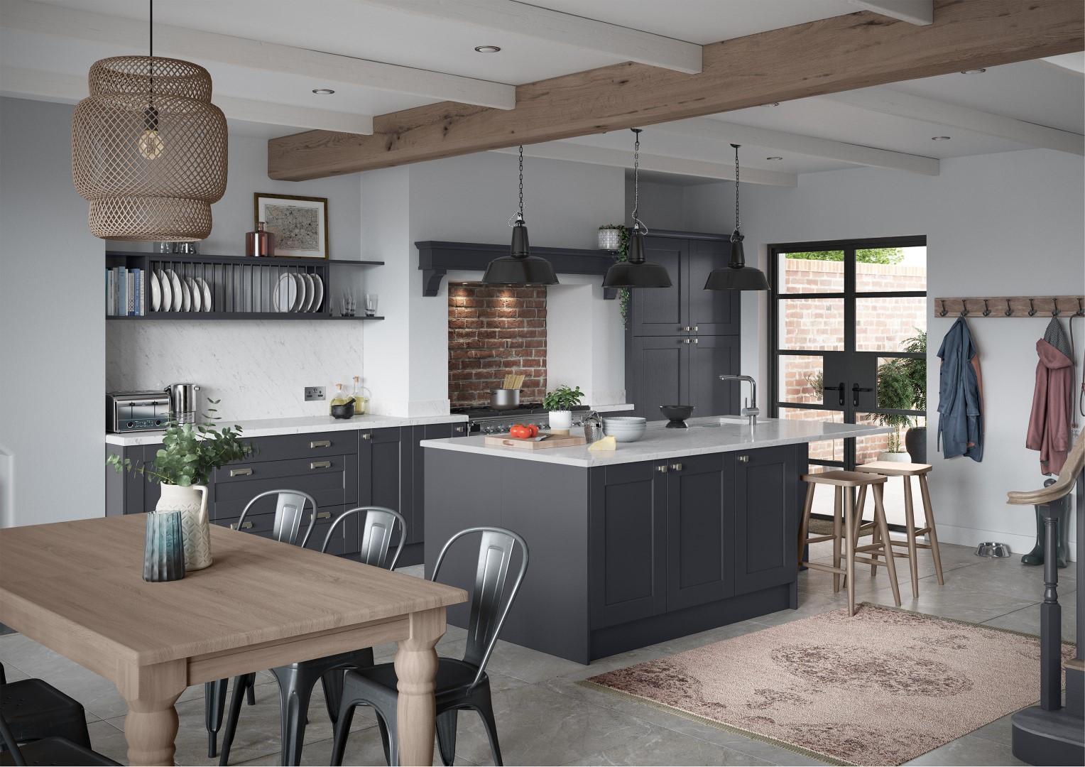 Kensington Indigo - Kitchen Design - Alan Kelly Kitchens - Waterford - 7