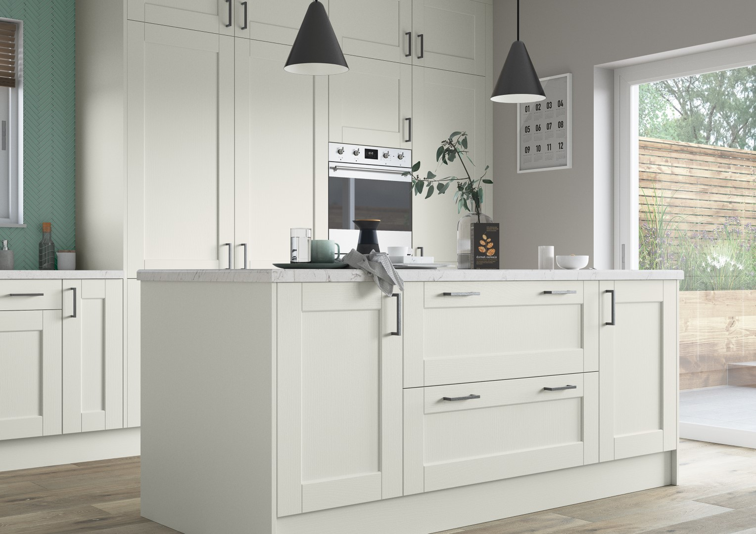Kensington Porcelain - Kitchen Design - Alan Kelly Kitchens - Waterford - 2