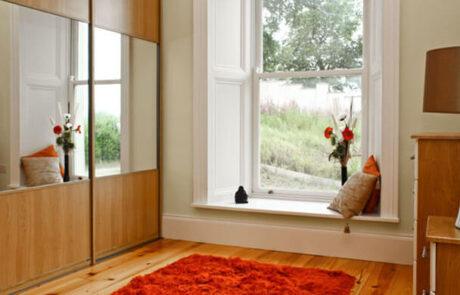 Lissa Oak - Sliderobes - Alan Kelly Kitchens & Bedrooms - Waterford