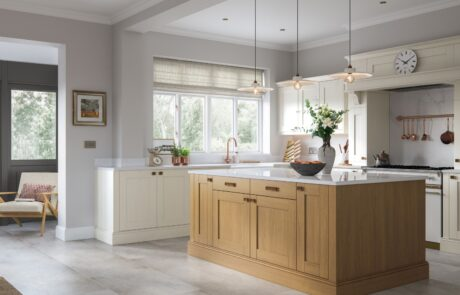 Madison Light Oak and Ivory - Kitchen Design - Alan Kelly Kitchens - Waterford - 1