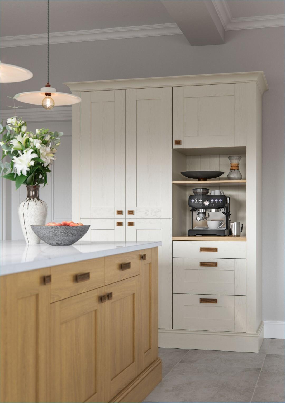 Madison Light Oak and Ivory - Kitchen Design - Alan Kelly Kitchens - Waterford - 3