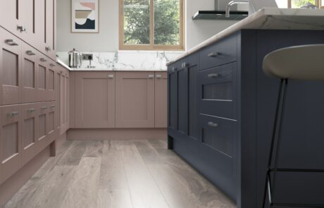 Madison Vintage Pink and Slate Blue - Kitchen Design - Alan Kelly Kitchens - Waterford - 2
