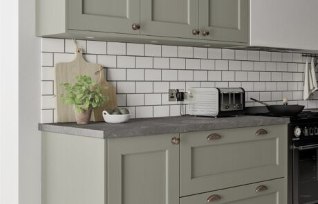 Wakefield Cardamom and Light Oak - Kitchen Design - Alan Kelly Kitchens - Waterford - 4