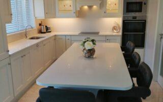 Wakefield Kitchen Door, Porcelain Colour Main Kitchen, Light Grey Island - Alan Kelly Kitchens Waterford - 2