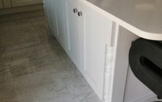Wakefield Kitchen Door, Porcelain Colour Main Kitchen, Light Grey Island - Alan Kelly Kitchens Waterford - 4