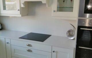 Wakefield Kitchen Door, Porcelain Colour Main Kitchen, Light Grey Island - Alan Kelly Kitchens Waterford - 5