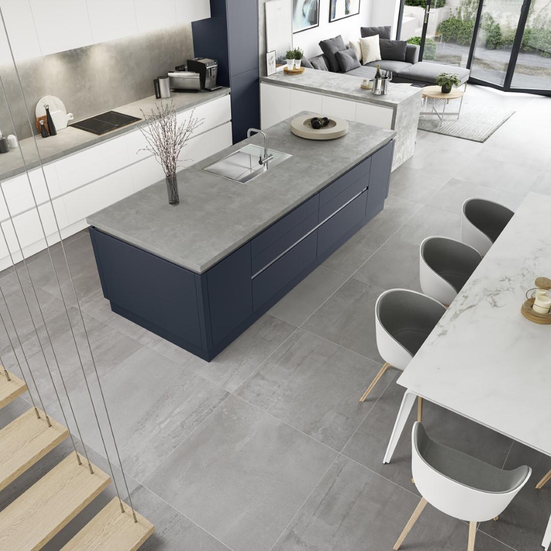 Zola Soft-Matte Indigo - Kitchen Design - Alan Kelly Kitchens - Waterford - 1
