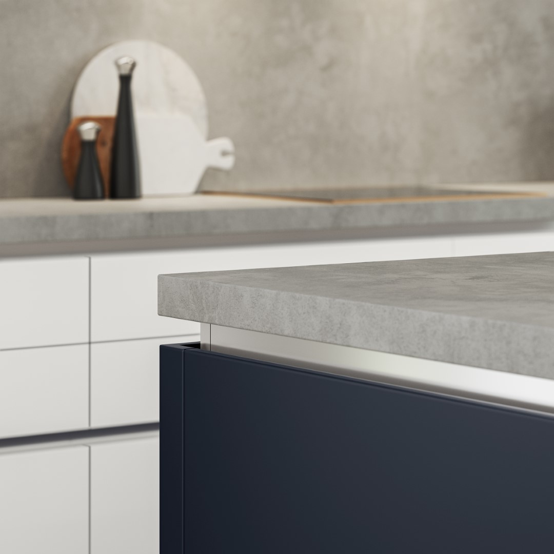 Zola Soft-Matte Indigo - Kitchen Design - Alan Kelly Kitchens - Waterford - 3